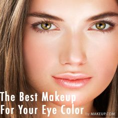 Eye Makeup Tips for Hazel Eyes Make Natural, Natural Makeup Looks, Natural Beauty, Natural Glow, Simple Makeup, Natural Healing, Beauty Make-up, Beauty Hacks, Hair Beauty