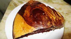 Torta marmolada sin leche ni huevos