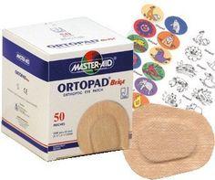 Ortopad Beige Eye Patches - Junior Size (50 Per Box) Ortopad