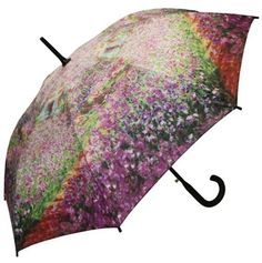 Monet Garden at Giverny umbrella. Available in two sizes.