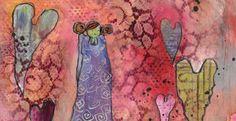 malerier av marit bergem : galleri m i Bakgården i Sandefjord