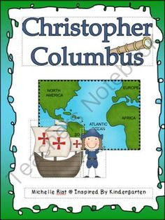 Columbus Day Story and Activities from Inspired by Kindergraten on TeachersNotebook.com (18 pages)