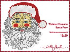 Stickdateien, Embroidery Files, Affiches de Broderie      Weihnachten, Christmas, Xmas  Alle Motive erhältlich für kleine, mittlere und große Rahmen.    All designs available for small, midsize and big frames.    http://estellaflorella.dawanda.com