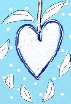 Heart painting- art by www.Facebook.com/Nancy.Beardsley.Art