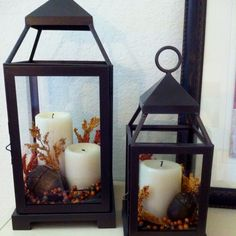 using the candle holder from outside