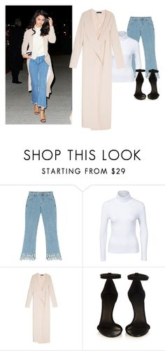 """Steal Her Style:Selena Gomez"" by emma18-g ❤ liked on Polyvore featuring Chicnova Fashion, NLY Trend, The Row and Isabel Marant"