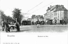 La Belgique des Quatre Vents: LA BELGIQUE D'ANTAN Bruxelles (Ville) - Photos entre 1850 et 1940 Chamonix, Vintage Postcards, High Quality Images, Bing Images, Street View, Animation, Brussels, Painting, Photos