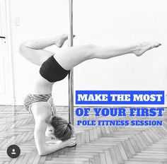 Make the Most of Your First Pole Fitness Session | When to go and what to wear. | pole dancing, pole fitness, pole moves, pole dancing clothes, pole dancing moves beginners, pole dancing moves tutorials, pole fitness inspiration