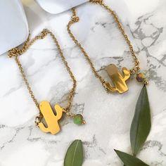 Κολιέ Κάκτος - Cactus από ατσάλι | Κολιέ στο jamjar Summer Accessories, Gold Necklace, Jewelry, Gold Pendant Necklace, Jewlery, Jewerly, Schmuck, Jewels, Jewelery