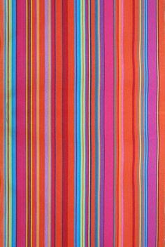 LES TOILES DU SOLEIL fabric PETIT BONBON PLUME Capucine