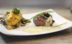 Magret et sa Pomme de terre Suédoise  Marre des pommes de terre à l'eau, à la vapeur, à l'huile…. Testez-les à la Suédoise !