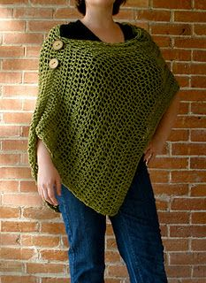 Crochet Poncho (for a nursing cover)  Did I already pin this?