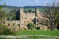 """Haughton Castle, Northumberland - Associated with the Swinburne & Widdrington families, it has a past of """"dreadful tales of bloodshed and torture."""""""