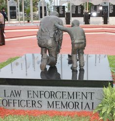 Every year Peace Officers Memorial Day and Police Week is observed (this year on May Thursday) to pay tribute to officers who lost their lives or were injured in their jobs. Cop Wife, Police Wife Life, Support Law Enforcement, Law Enforcement Officer, Peace Officer Memorial Day, Thin Blue Lines, Criminal Justice, Police Officer, Memories