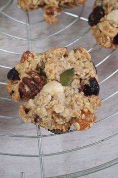 Cookies aux muesli parfait pour le petit déjeuner