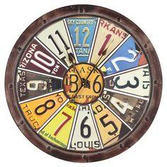 Hildale Wall Clock