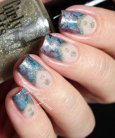 Smoosh Marble Nails