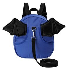 Antilost Kindergarten Backpack Cute Shoulder Bag Children School BagBlue ** Visit the image link more details.