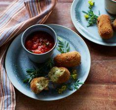 Potato and Mozzarella Croquettes | KitchenDaily.com