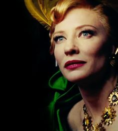 Cate Blanchett did an extraordinary job playing as the role of the stepmother in Cinderella and as Galadriel in the Hobbit and Lord of the Rings movies.