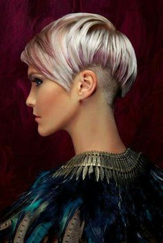 Blond Lila Pixie Haarschnitt - New Site Love Hair, Great Hair, Awesome Hair, Medium Hair Styles, Short Hair Styles, Look 2018, Grey Wig, Short Hair Cuts For Women, Silky Hair