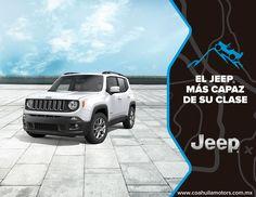 Jeep Renegade esta equipada con todo lo necesario para empoderar a una nueva generacion de exploradores #JeepRenegade