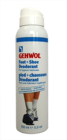 Gehwol Foot and Shoe Deodorant Spray 150ml Gehwol Foot and Shoe Deodorant Spray 150ml: Express Chemist offer fast delivery and friendly, reliable service. Buy Gehwol Foot and Shoe Deodorant Spray 150ml online from Express Chemist today! (Barco http://www.MightGet.com/may-2017-1/gehwol-foot-and-shoe-deodorant-spray-150ml.asp