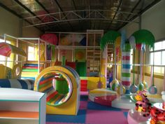 diy indoor playground - Google Search
