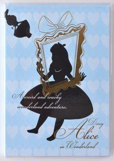 Amazon.co.jp: デルフィーノ 2016年手帳 Disney アリス シルエット 【2015年12月始まり】 ブルー A6サイズ DZ-76901: 文房具・オフィス用品