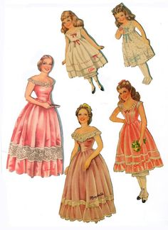 GWTW* 1500 free paper dolls The International Paper Doll Society Arielle Gabriel artist #QuanYin5 Twitter, Linked In QuanYin5 *
