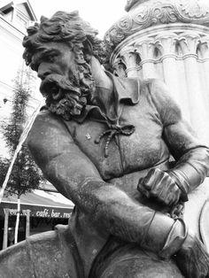 Brunnen Most Beautiful Cities, Vienna, Statue, Fountain, Sculpture
