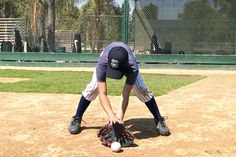 Teaching young Tee Ballplayers to Stop Grounders   The most important aspect when teaching young players about fielding and catching is having them use  both hands. A simple drill that will enforce this skill is to have the players practice ground balls without  using a baseball glove. Have the players stand at their positions and roll them the ball. This almost  forces them to use both hands.