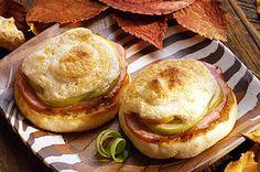 Healthy Diabetic Recipe for Canadian Breakfast Sandwiches