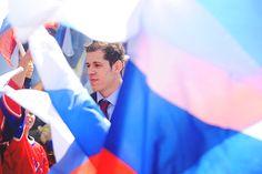 Great pic of Russian Evgeni Malkin