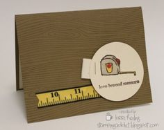 Stampin Up Totally Tool Card - Love!