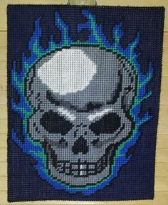 Skull (wall hanging)