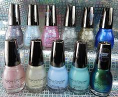 Sinful Colors Vintage Anime Kandee Johnson nail polish collection | Be Happy And Buy Polish https://behappyandbuypolish.com/2017/03/02/sinful-colors-kandee-johnson-vintage-anime-nail-polish-collection-swatches-review/