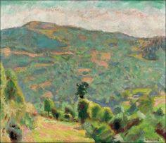 Pierre Bonnard (1867-1947) Paysage de Haute-Savoie