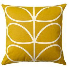 Linear Stem Cushion Sunflower