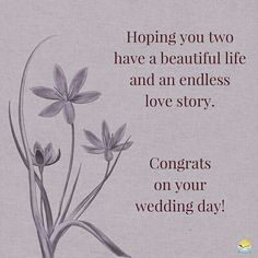 Wedding Day Wishes Messages Happy Birthday New Ideas Happy Wedding Wishes, Wedding Wishes Messages, Wedding Anniversary Wishes, Happy Wedding Day, Happy Anniversary, Anniversary Quotes, Birthday Messages, Anniversary Message, Wedding Congratulations Quotes