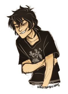 When I discovered that Nico Di Angelo fall into Tartarus ALONE : ok, in fanfic destiny will jump with him, that's why it's such a shock for him when she jumps in after percy and Annabeth. This is because when nico went to close the doors of death, ares says she has to go with him. So after that, no more son of nept. Or moa until nico and her enter. All that time is soley p.o.v. in tartarus being tourtured with nico