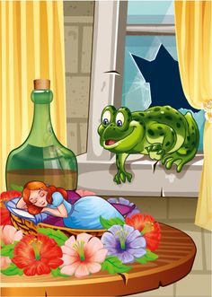 View album on Yandex. Home Crafts, Arts And Crafts, Crafts For Kids, Frog Pictures, Frog Art, Human Drawing, Cute Frogs, Card Tutorials, Conte