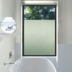 Diy With Frosted Shelf Liner Paper Makes Frosted Glass For Master