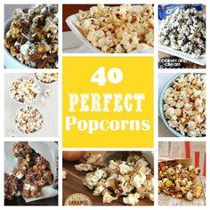 40 gourmet popcorn recipes