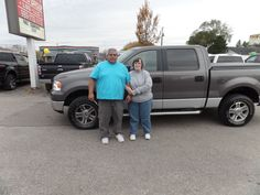 Congratulations to Jesse and Anna on their purchase of a new Ford F150! We really appreciate the opportunity to earn your business and hope you enjoy your new truck!
