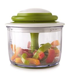 chef'n veggiechop hand powered veggie chopper So CUTE! Plus you don't need to waste electricity to use it! Vegetable Chopper, Food Chopper, Veggie Pizza, House On Wheels, Cool Items, Kitchen Gadgets, Kitchen Dining, Vegetables, Cooking