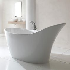 Gut Victoria + Albert Amalfi Freistehende Badewanne Weiß Freistehende Badewanne,  Dachgeschosswohnung, Badezimmer, Ideen,