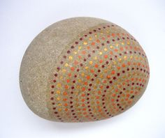 Painted stone/paperweight. $12.00, via Etsy.