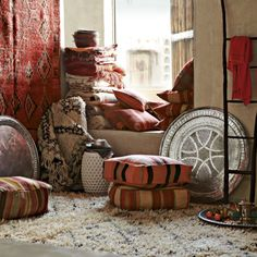 West Elm offers modern furniture and home decor featuring inspiring designs and colors. Create a stylish space with home accessories from West Elm. Moroccan Design, Moroccan Decor, Moroccan Style, Design Marocain, Style Marocain, Moroccan Bedroom, Moroccan Interiors, West Elm, Deco Boheme Chic