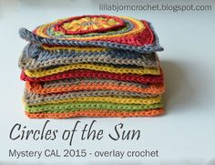 Circles of the Sun - overlay crochet